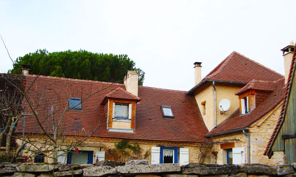 Couvreur Cubjac - couverture tuiles plates