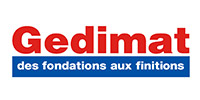 Logo Gedimat - Des fondations jusqu