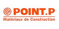 Logo Point P - Matériaux de construction